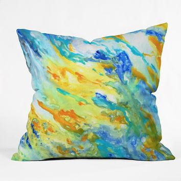 Rosie Brown Sunset Inspired Throw Pillow