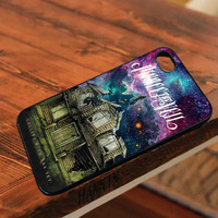 pierce the veil band poster galaxy nebula - for iPhone 4/4S,5 case iphone 4/4s/5 Case Hard Plastic Cover
