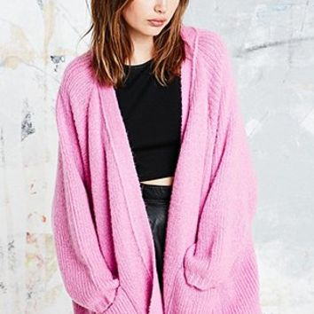 UNIF Hole Cardigan in Pink - Urban Outfitters