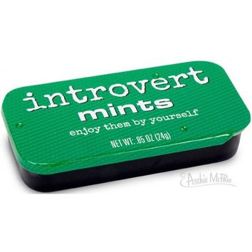 Introvert Mints - Enjoy Them By Yourself!