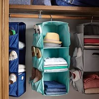 Rotating Hanging Closet Storage, Solid