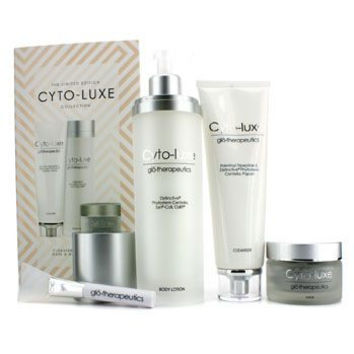 Cyto-Luxe Collection (Limited Edition): Body Lotion + Cleanser + Mask + Mask Applicator for Women