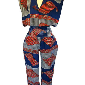 Sheila Jay Designs African Womens Jumpsuit