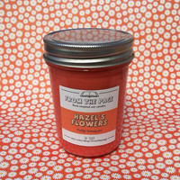 Hazel's Flowers Soy Candle (Inspired by The Fault in Our Stars) - 8 oz