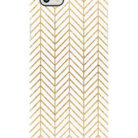 Golden Tread iPhone 6 Black Bezel Deflector Case