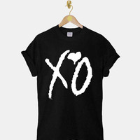 The Weeknd - XO  DTG ScreenPrint 100% pre-shrunk cotton for t shirt mens and t shirt woman at kahitna