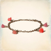 Bronze Chain Anklet