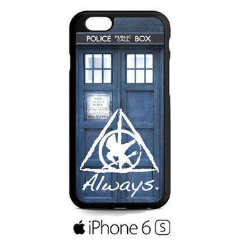 Tardis Doctor Who Hunger Games Always Harry Potter iPhone 6S  Case