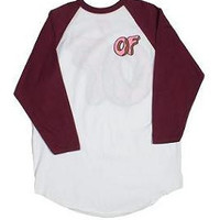 OF Donut Maroon Jersey by OFWGKTA | Odd Future