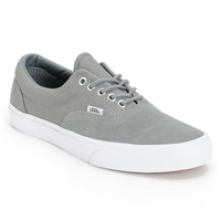 Vans Era Monument Grey & True White Hemp Skate