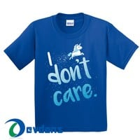 I Don't Care Unicorn T Shirt Women And Men Size S To 3XL