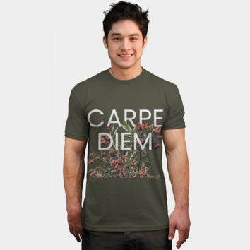 Carpe Diem T Shirt By 83Oranges Design By Humans