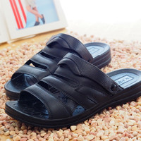 Men Sandals Beach Shoes Slippers [6849383939]