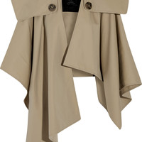 Burberry Prorsum - Cotton-gabardine trench cape