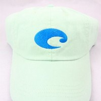 Costa Del Mar Cotton Twill Hat, Juniper