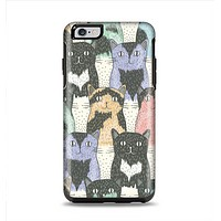 The Vintage Cat portrait Apple iPhone 6 Plus Otterbox Symmetry Case Skin Set
