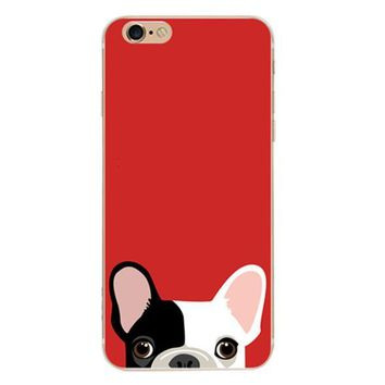 Cute Pit Bull Case Cover for iPhone 6 6s Plus iPhone 7 7plus + Gift Box-461-170928