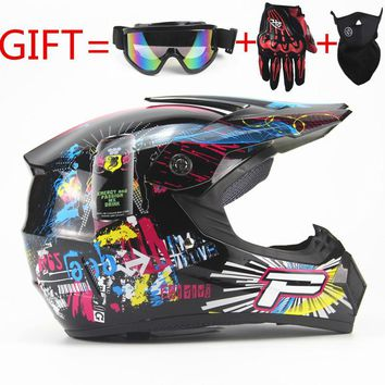 Motorcycle Adult motocross Off Road Helmet  ATV Dirt bike Downhill MTB DH racing helmet cross Helmet  capacetes