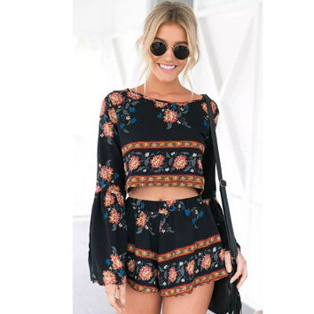 Summer Fashionable Stylish Two Pieces Romper