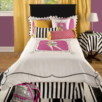 Jealla White Twin Size Kids Comforter Bed Set