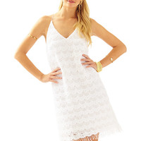 Natalie Strappy Lace Slip Dress - Lilly Pulitzer