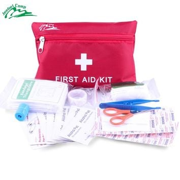 Jeebel 12-1 in Medical bag Emergency Survival Kits Equipment SOS First Aid Kit Camping Safety Outdoor Tourniquet Woundplast