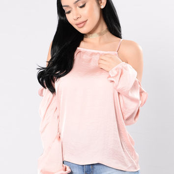 Until Midnight Top - Blush