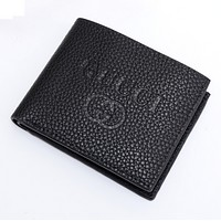 Gucci cross sectional Leather Fashion Wallet [305700831261]