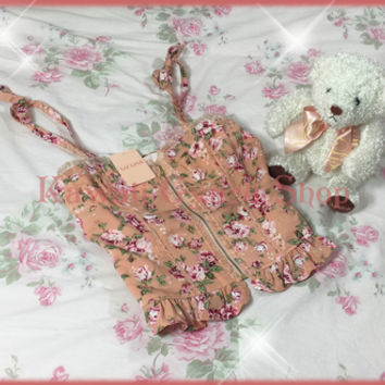 Liz Lisa Floral Bustier Cami Top (NwT) from Kawaii Gyaru Shop