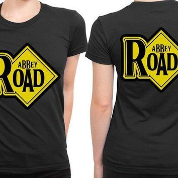 ESBH9S Abbey Road Plank 2 Sided Womens T Shirt