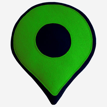 Google Map Pin - Green