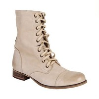 Steve Madden - TROOPA NATURAL LEATHER