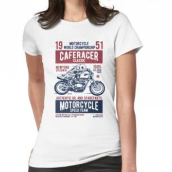 'CLASSIC CAFERACER' T-Shirt by Super3