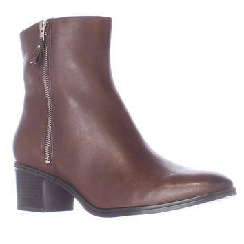 naturalizer Harding Plain Ankle Boots - Brown