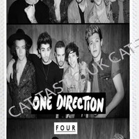 1D ONE DIRECTION IPHONE 4/4S/5, 5S,5C,6,6 plus PRINTED HARD CASE COVER,FOUR.
