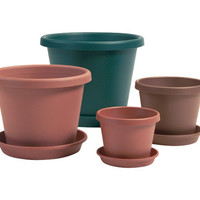 "garden accents: 12"" terra cotta classic pots Case of 12"