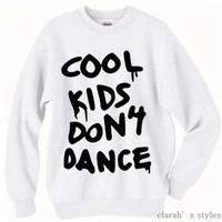 PREORDER  Cool Kids Don't Dance Zayn Malik Pull Over Sweater Crew Neck