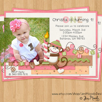 Shop Baby First Invitations on Wanelo