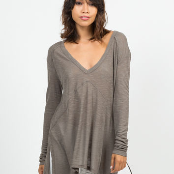 Lightweight Sweater Top
