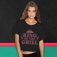 King Of The Grill boxy tee