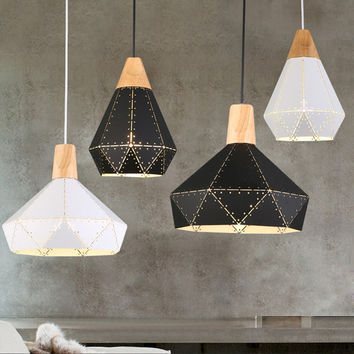 Nordic Inspired Wooden Pendant Lights