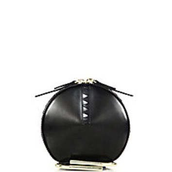 3.1 Phillip Lim - Alix Circle Leather Clutch - Saks Fifth Avenue Mobile