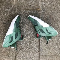 """""""NIKE""""AIR Huarache Running Sport Casual Shoes Sneakers Wine red G-CSXY"""