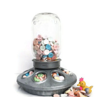 Chicken Feeder  / Candy Jar / Easter Decor