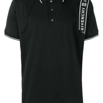 Stripe Logo Polo Shirt by Givenchy