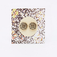 Giftcard Post Stud Earrings - Urban Outfitters