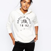 Abercrombie & Fitch Logo With Lion Image Hoodie