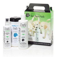 John Paul Pet Tea Tree Grooming Set, 3-Pack