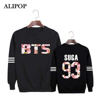 ALIPOP Kpop Korean Fashion BTS Young Forever Album 2015 Come Back Album Cotton Hoodies Clothes Pullovers Sweatshirts PT384