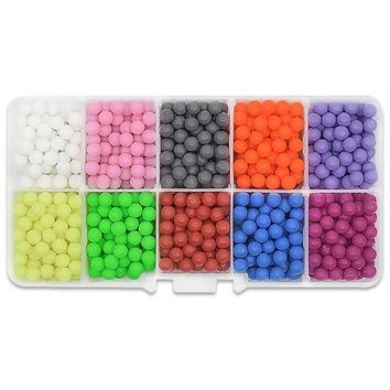 1000pcs/bag Water Hama Beads toys Sticky Perler Beads Pegboard set Fuse Beads jigsaw puzzle Water Beadbond Educational DIY toys